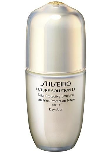 Shiseido Shiseido Future Solution Lx Total Protective Emulsion SPF15 Nemlendirici 75 ml Renksiz